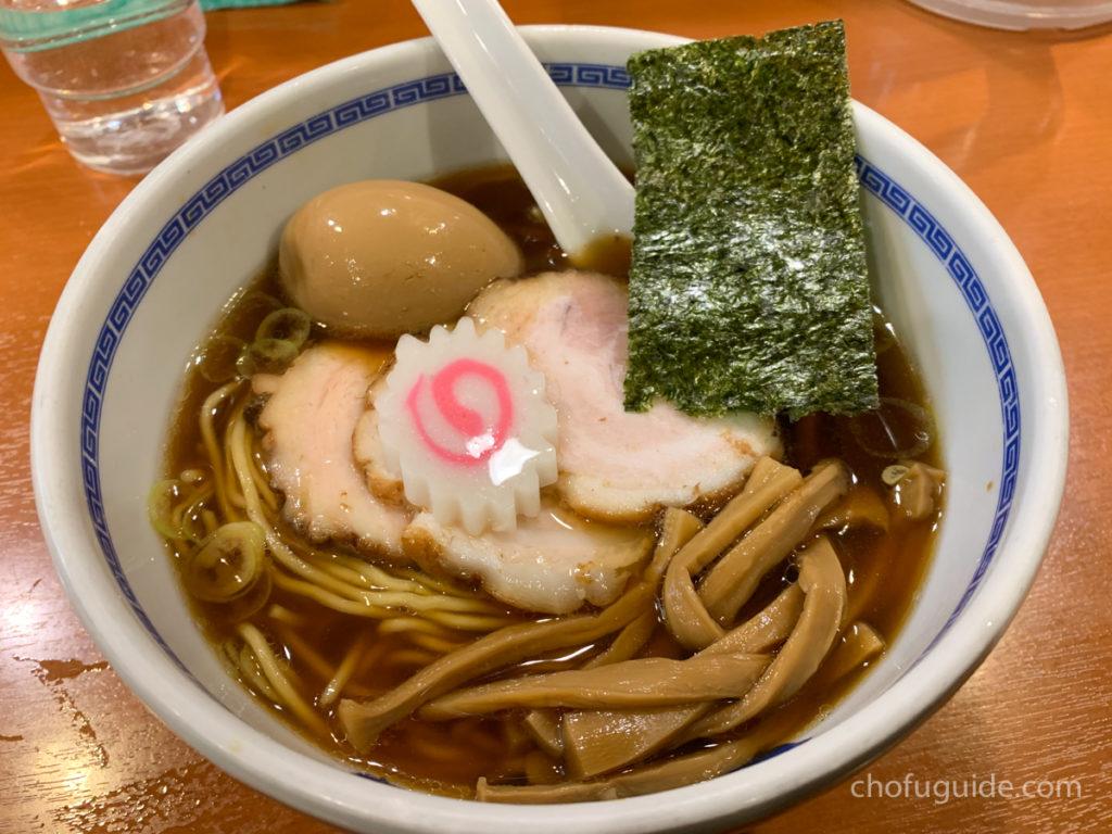 醤油らーめん・チャーシュー麺