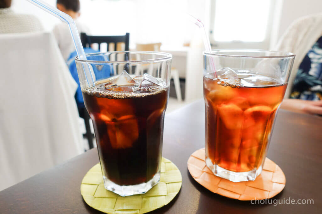 『コーヒー・紅茶』490円