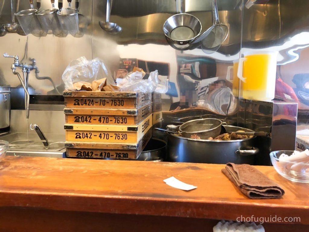 しば田の厨房
