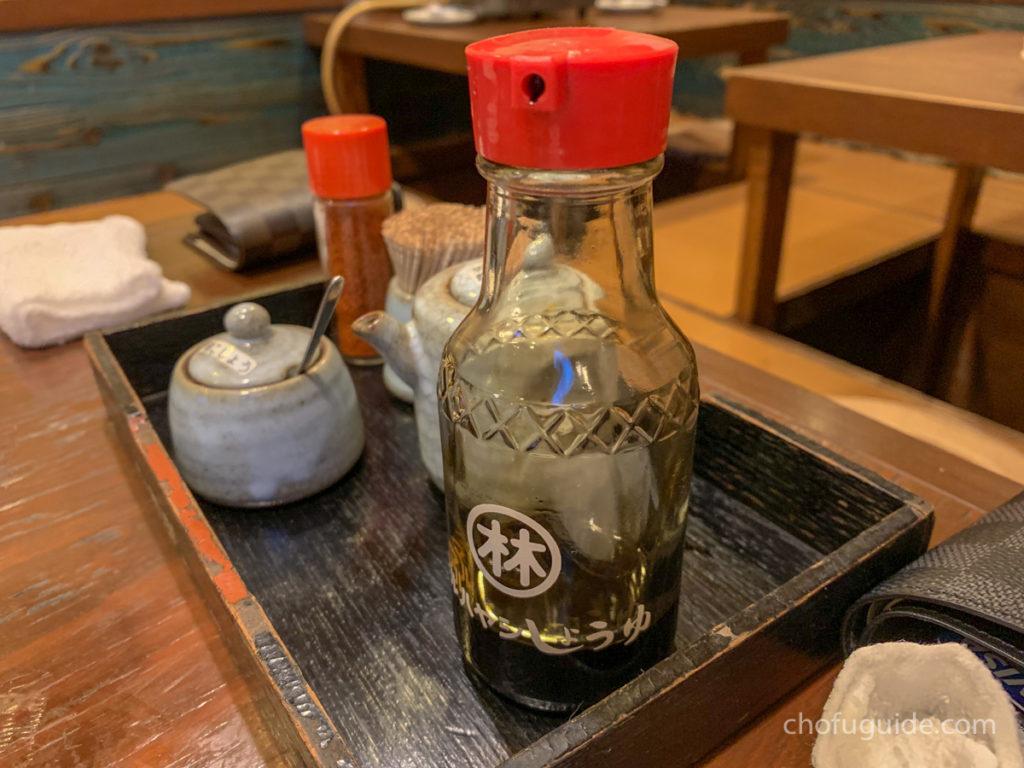 九州の甘い醤油