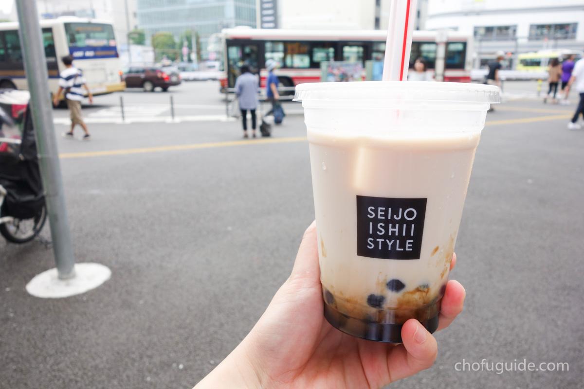 成城石井『タピオカ黒糖ミルクティー』のお味は?