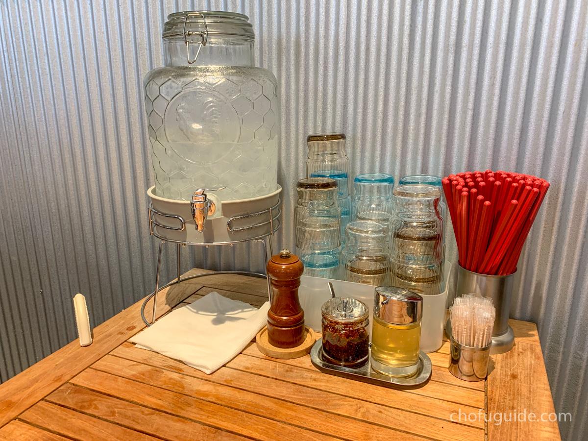 イチコロのテーブル