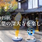 【2019年】秋深まる紅葉シーズンの調布市・深大寺を散策してそばと鬼太郎茶屋を楽しむ