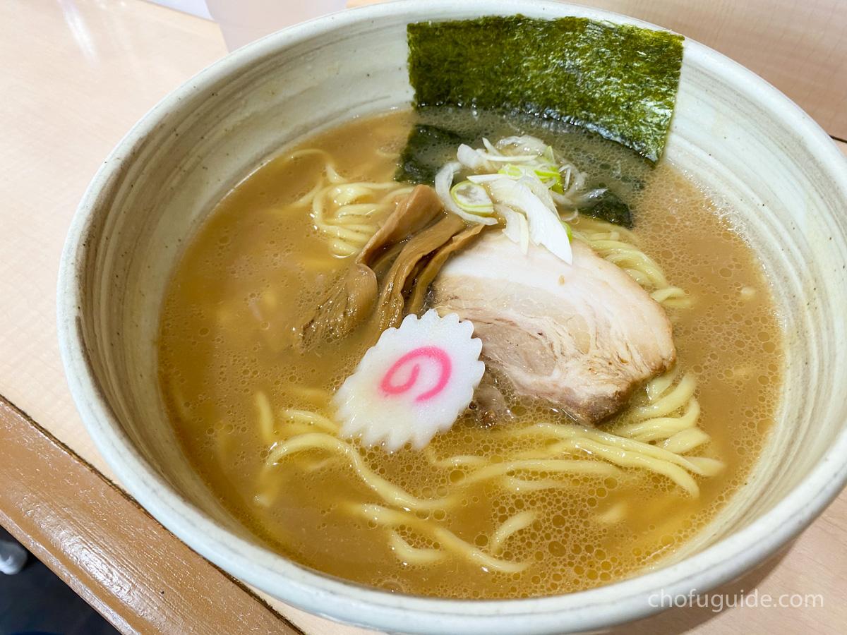 「魚介醤油らーめん 200g」(750円)