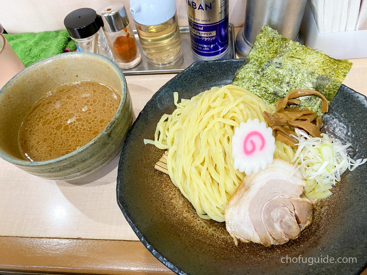 「魚介醤油つけめん 200g」(790円)