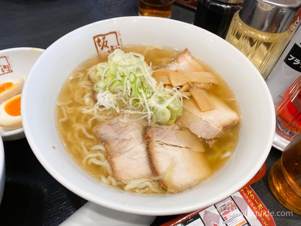 喜多方ラーメン(680円)