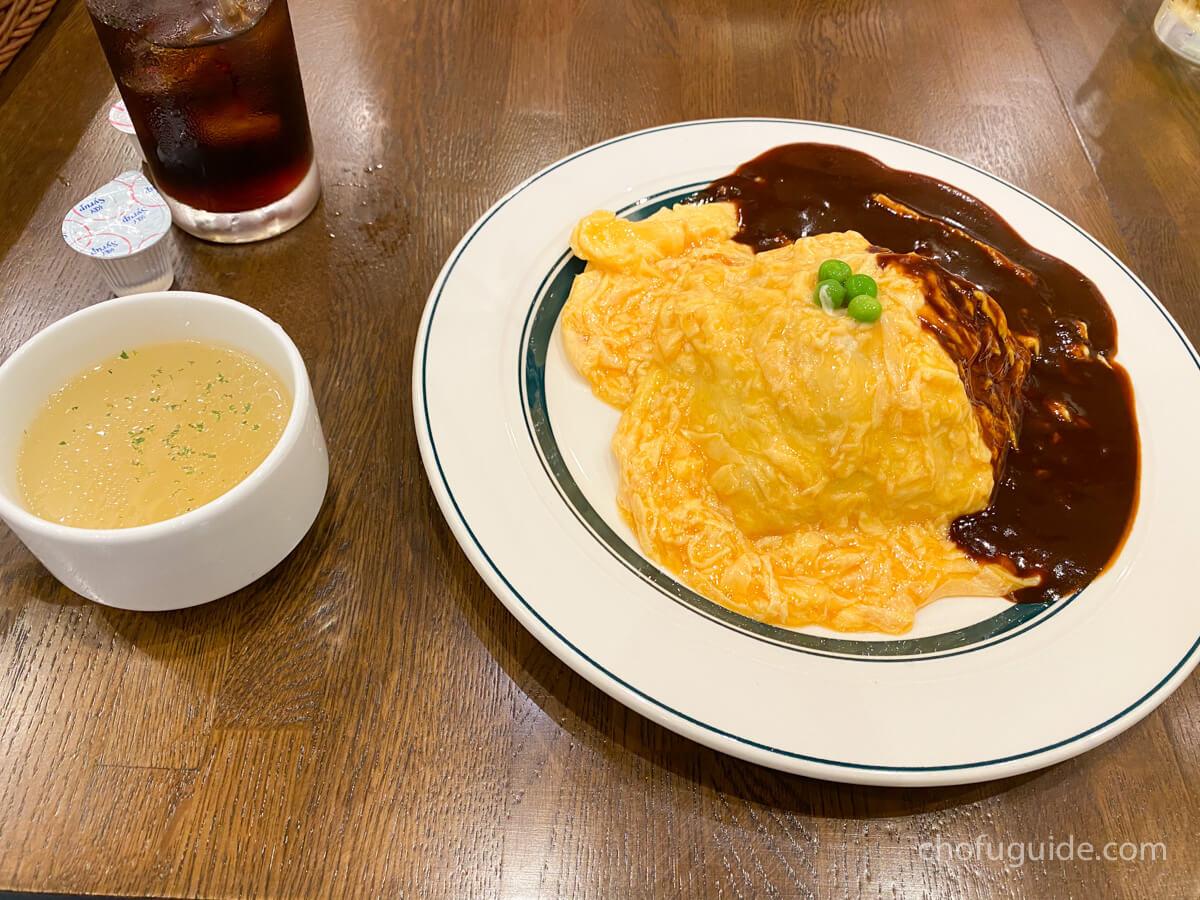 【調布】『洋食亭ブラームス トリエ京王調布店』レトロな雰囲気で頂くトロトロオムライスが美味しい!まとめ