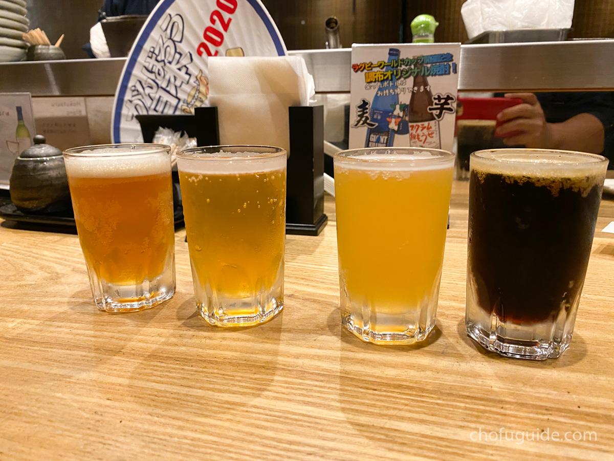「クラフトビール4種類飲み比べセット」