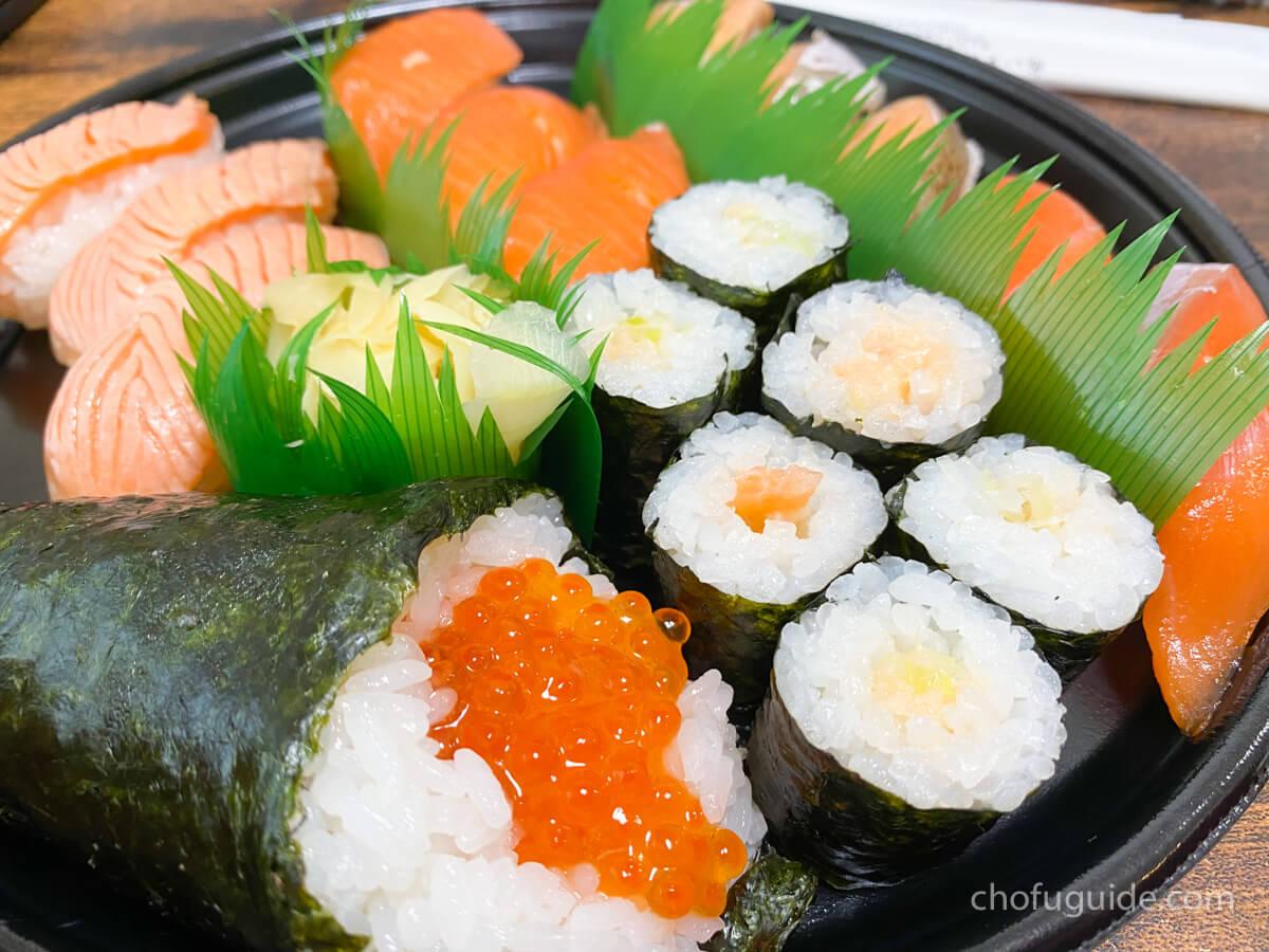 『宅配寿司 大黒屋 調布店』で豪華なデリバリー「サーモンいっぴき&特うな重」を頼んでみた!まとめ