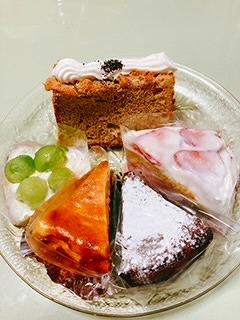 美味しいケーキたち